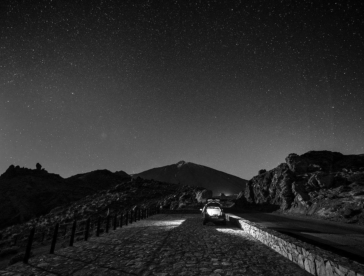 Sternenhimmel über Teneriffa