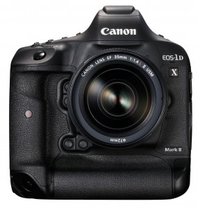 Die EOS 1DX Mark II, Bild: Canon